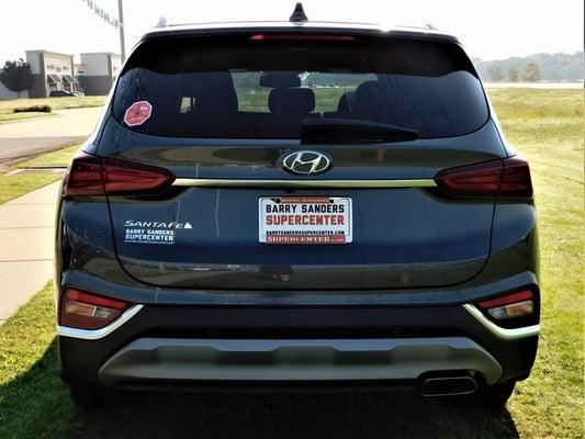 2020 Hyundai Santa Fe Sel 2 4 4 Cyl 2 40 L Rainforest In Tulsa Ok Tulsa Hyundai Santa Fe For Sale Tulsa Hyundai Bl0033 Milage