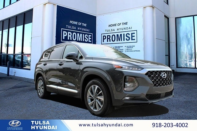 2020 Hyundai Santa Fe Sel 2 4 4 Cyl 2 40 L Portofino Gray In Tulsa Ok Tulsa Hyundai Santa Fe For Sale Tulsa Hyundai Tl787 Milage