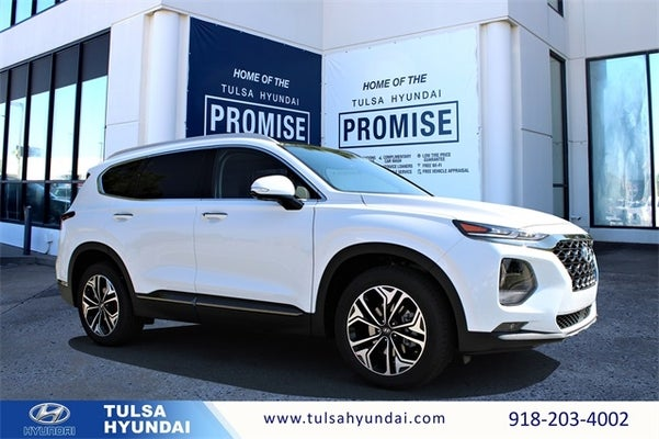 2020 Hyundai Santa Fe Limited 2 0t 4 Cyl 2 L Quartz White In Tulsa Ok Tulsa Hyundai Santa Fe For Sale Tulsa Hyundai Tl796 Milage